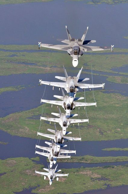 F-18 Hornets @ tonygqusa i follow back.