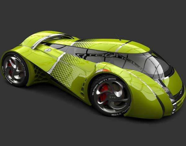 UBO CONCEPT CAR Inovando a história do automóvel.