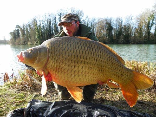 premier beau poisson de l'année tjs en canal