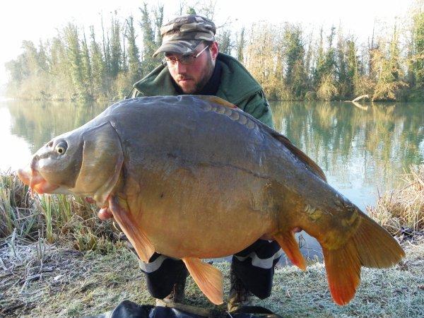 journé en canal avec 2 fish au sec dont une tres belle miroir