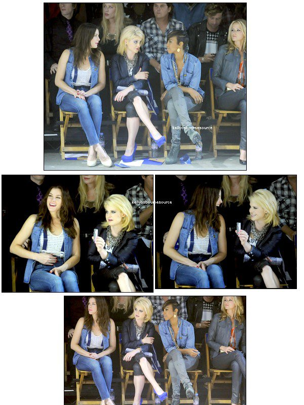 ____    Backstage Spring 2011 MBFW avec Liv Tyler & Kelly Rowland, Kelly  s'entend vraiment avec tout le monde... ;) ____