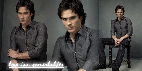 Damon Salvatore ou Ian Somerhalder pour les plus intime...