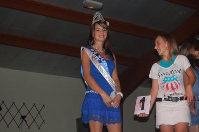 "notre miss invitee:FLORINE COUSSIN ""MISS SUPER TEEN FRANCE 2011"""