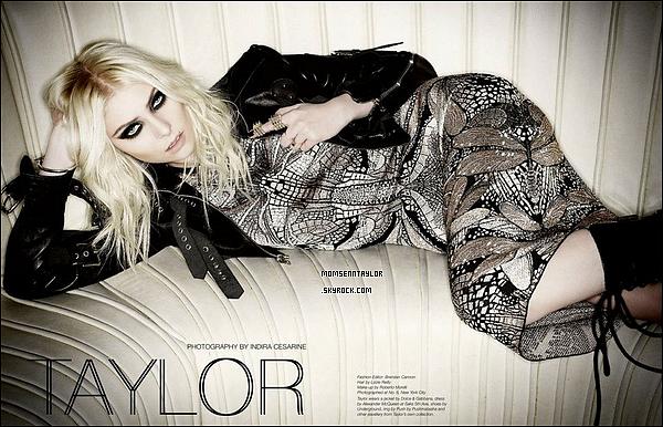 Découvrez enfin les photos de Taylor pour Untitled en HQ !