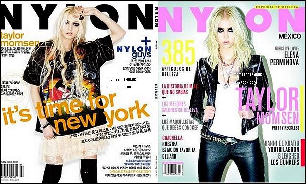 Découvrez la couverture de Nylon (Mexique) sur laquelle Taylor apparaît !