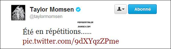 Un nouveau tweet de Miss Momsen, et une photodans un magazine Ukrainien.