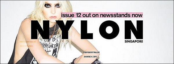 Découvrez la couverture officielle de Nylon 2013 et les photos !