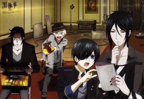 Kuroshitsuji         †                 Black butler