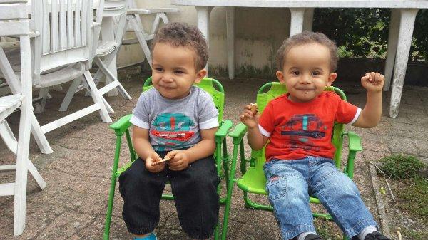 Mes jumeaux.mes fils d'amours😍