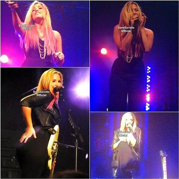 14.07.2012 - Demi a fait un soundcheck à Las Vegas dans le Nevada.