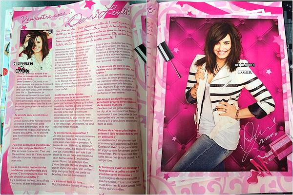 Scans du magazine Trinity Stars qui sort en janvier 2014. + Photos du photoshoot pour le magazine.