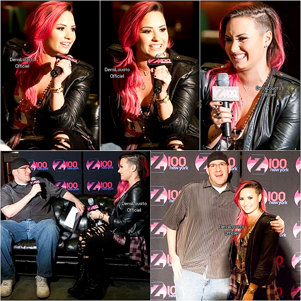 07.03.2014 - Demi a fait un soundcheck à East Rutherford.