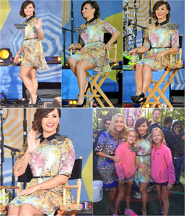 15.08.2014 - Demi a été vue quittant son hôtel à New York.