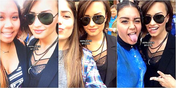16.08.2014 - Demi a été vue quittant son hôtel à New York.