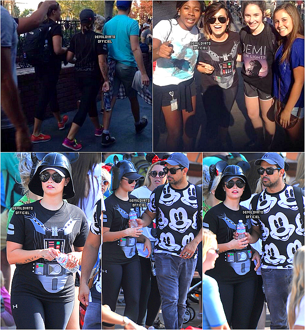 19.08.2014 - Demi a eu un anniversaire surprise organisé par sa famille et ses amis à Los Angeles. (Vidéos : 1, 2 & 3.)