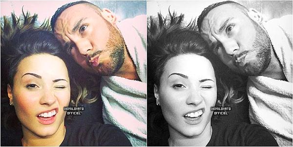 25.08.2014 - Demi organise un concours pour les américains. Ils doivent shazamé Really Don't Care 5 fois. Ils pourront gagné 2 tickets pour un de ses concerts aux USA ainsi qu'une chanson dédicacé.