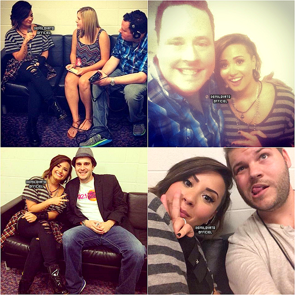 21.09.2014 - Demi a fait un meet and greet à Tulsa.