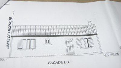 vue des facades Est et Ouest