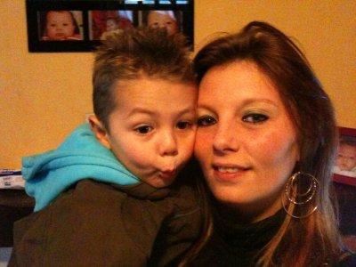 mà grànde soeur et son fils
