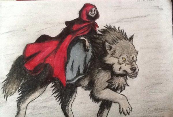 La petite chaperon rouge et le grand méchant loup