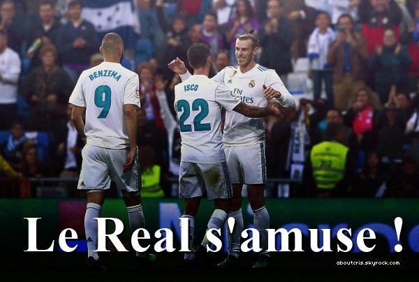 • Le Real s'impose 6-0 contre Celta Vigo, doublé de Bale, but de Hakimi, Kroos, Isco & un but csc de Sergi Gómez !