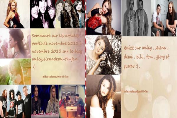 1 ans que le blog existe :D !!!!!!!!