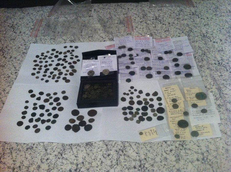 Voilà toutes mes monnaies Romaine trouvées sur 4 sites différents !