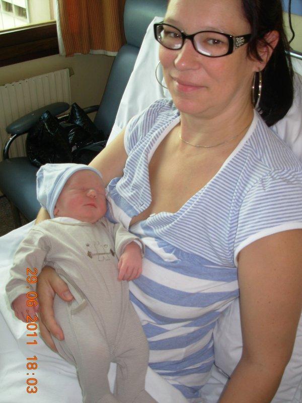 naissance de mon petit fils