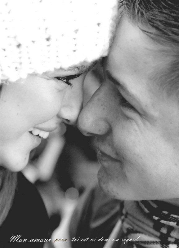 Mon αmour pour toi est né dαns un regαrd ♥ ...