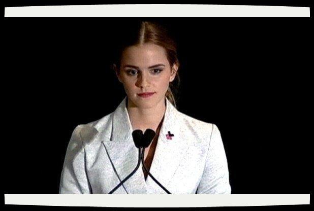 Emma Watson s'exprime pour l'égalité des sexes