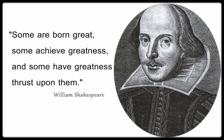 Le grand Shakespeare fêtes ses 400 ans !