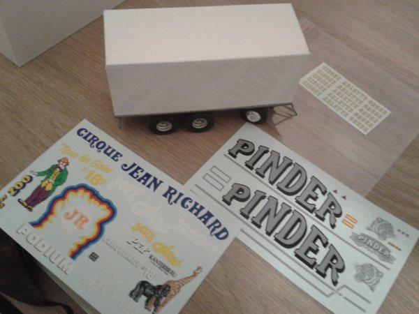remorque Pinder Fred