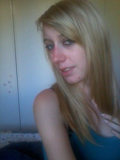 une vrai blonde ...
