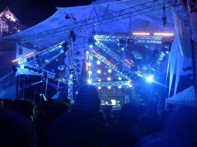 HADRA trance festival 2011 sound and panorama