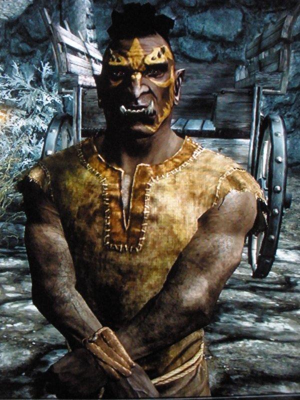 Le Bestiaire de Skyrim : Les Grumphff !! NON ! Les Orcs !