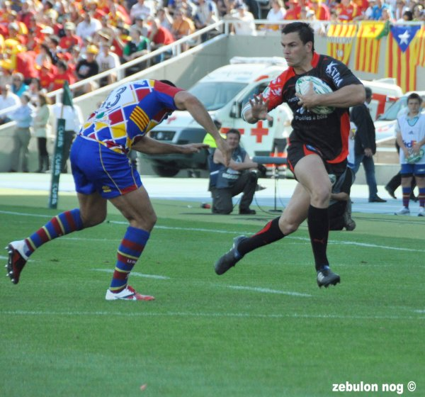 USAP VS TOULON LE MATCH (barcelone)