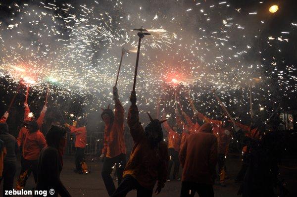 correfoc ARGELES SUR MER 2011.