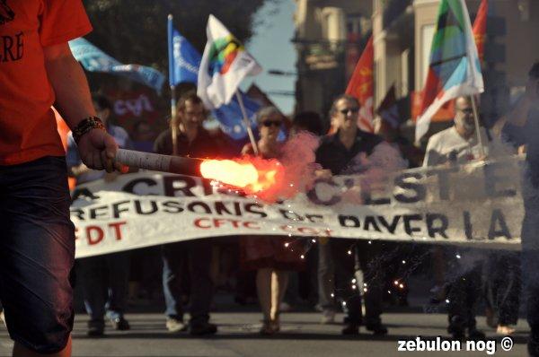 manifester mardi 11 octobre perpignan 2011.