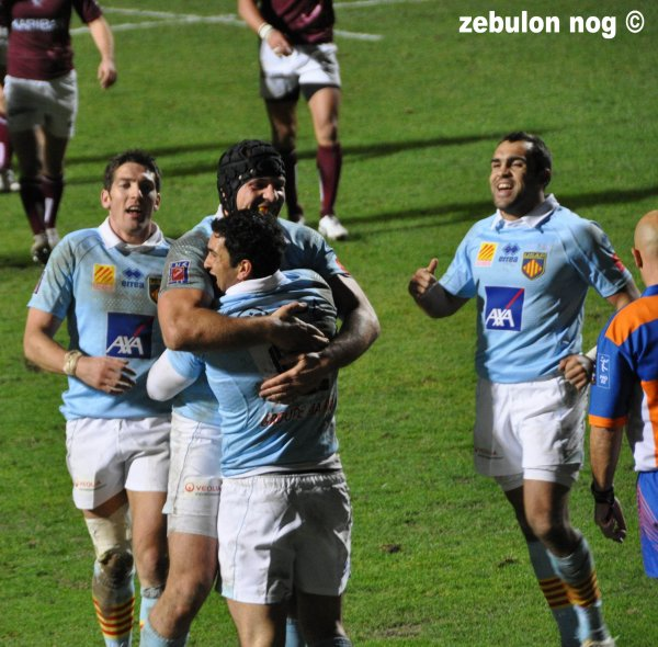 Usap vs Union Bordeaux Bègles.