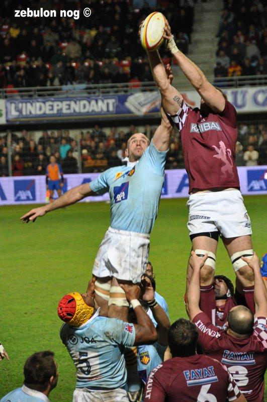 Usap vs Union Bordeaux Bègles.