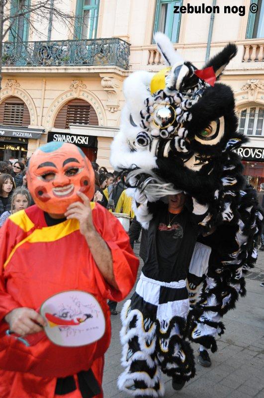 Nouvel an chinois : 2012 année du dragon