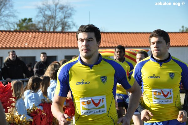 usap espoirs  VS  asm