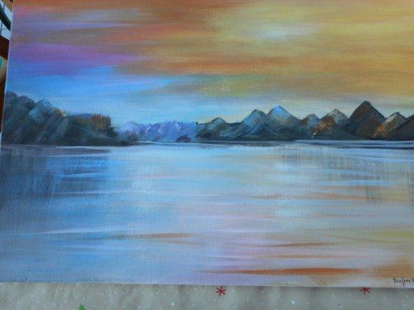 ma dernière peinture