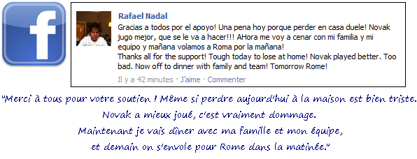 Madrid 2011 / 07: Parenthèse Facebook