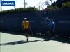 """30/08/11 : """"L'US Open va bientôt commençé ! Ce matin je me suis entraîné 2 heures avec Marc Lopez ... Il reste peu de temps avant le début. Demain, premier match !"""""""