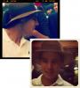 En attendant, Rafa et son chapeau, pris en flag à Shanghaï. (@studiothuis)