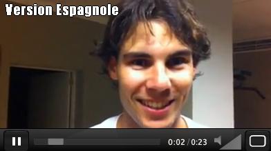"""VIDEO Fb """"1er novembre"""" 2011  : """" Cela fait longtemps que je n'ai pas partagé de vidéo avec vous :) J'espère que cela vous fera plaisir. Je vous embrasse !! """""""