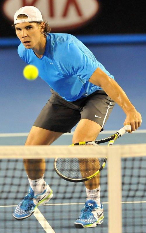Australian Open 2012 / 02 : Entraînement et sponsors