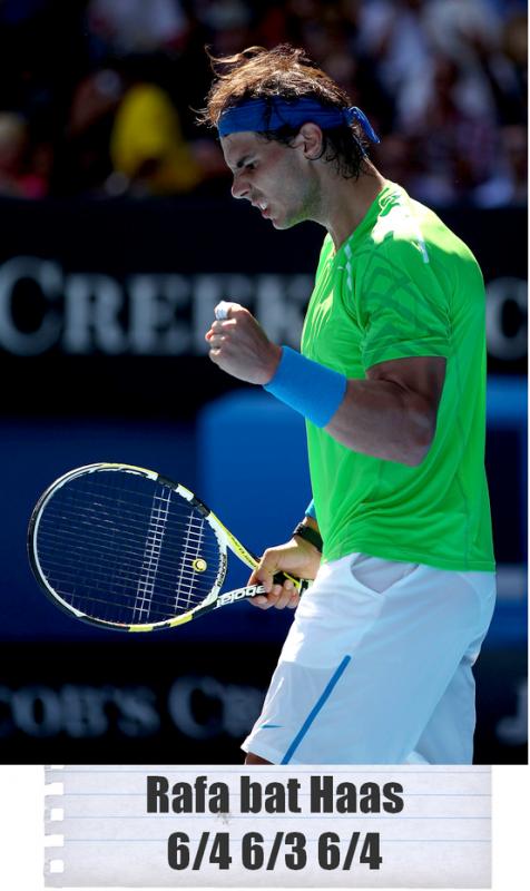 Australian Open 2012 / 06 : En route pour le 3ème tour !