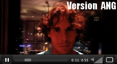 """26.01.12 : """" Avant d'aller dormir, je voudrais partager avec vous cette vidéo. Merci pour votre soutien ! """""""
